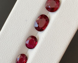 3.75 Carats Natural Rubellite  Tourmaline Gemstones