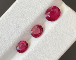 2.90 Carats Natural Rubellite  Tourmaline Gemstones