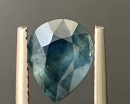1.20 Carats Corundum sapphire Gemstone