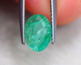2.00Ct Natural Zambia Green Emerald Oval Cut Lot LZ6097
