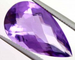 14.80 CTS AMETHYST FACETED STONE CG-3016