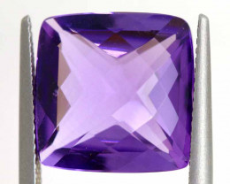 9.75 CTS AMETHYST FACETED STONE CG-3017