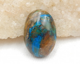 Pure Blue 39.55cts Blue Opal Cabochon, October Birthstone, Blue Opal G402