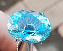 11.40ct Blue Apatite
