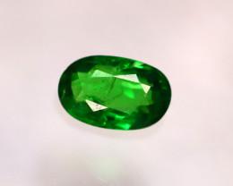Tsavorite 0.87Ct Natural Intense Vivid Green Color Tsavorite Garnet E1914