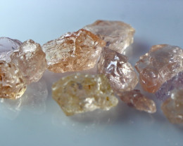 51.00 CT Natural  Beautiful Peach Pink Morganite Rough Lot