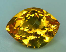 Rare Beryl~7.55 Ct Natural  Golden Yellow