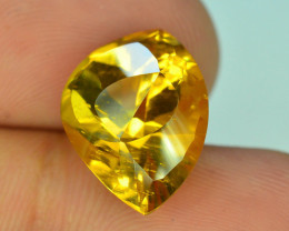 Rare Beryl ~7.95 Ct Natural  Golden Yellow