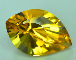 Rare Beryl 6.20 Ct Natural  Golden Yellow