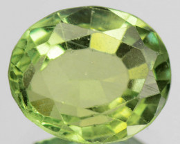 2.54 Cts Un Heated Green Color Natural Apatite Loose Gemstone