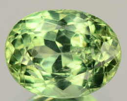 1.82 Cts Un Heated Green Color Natural Apatite Loose Gemstone
