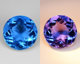 4.64 Cts Amazing Rare Color Changing Natural Flourite  Gemstone