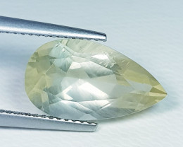 5.48 ct Top Quality Gem Stunning Pear Cut Natural Scapolite
