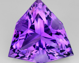 16.59 Cts Sparkling  Amethyst Brilliant Color and Cut ~ AM2