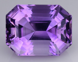 12.59 Cts Sparkling  Amethyst Brilliant Color and Cut ~ AM6