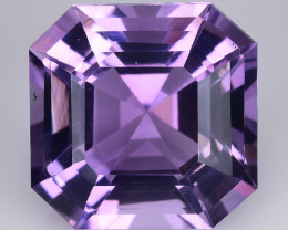 11.05 Cts Sparkling  Amethyst Brilliant Color and Cut ~ AM7