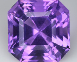 10.34 Cts Sparkling  Amethyst Brilliant Color and Cut ~ AM12