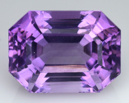 10.64 Cts Sparkling  Amethyst Brilliant Color and Cut ~ AM13