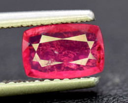 Tourmaline, 1.30 Carats Amazing Natural Rubellite Tourmaline Gemstone
