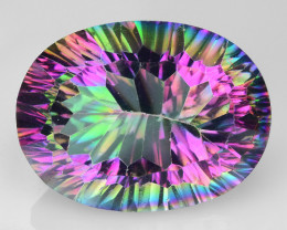 16.97 Cts Mystic Quarts Awesome Color Combination M8