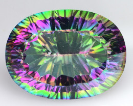22.11 Cts Mystic Quarts Awesome Color Combination M12