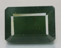 12.31 Cts Untreated Fancy Green Serpentine Natural Loose Gemstone