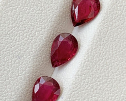 2.15  Carats Natural Rubellite Tourmaline Gemstones