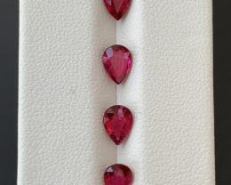 2.50  Carats Natural Rubellite Tourmaline Gemstones