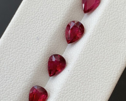 2.30  Carats Natural Rubellite Tourmaline Gemstones