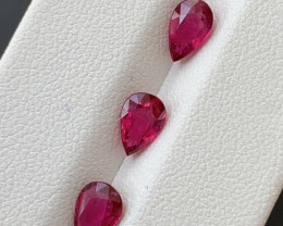 1.85  Carats Natural Rubellite Tourmaline Gemstones