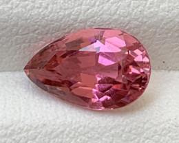 2.05 Carats Natural Color Tourmaline Gemstone