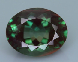 Rarest 2.56 ct Green Sunstone Color Change Oregon SKU.3
