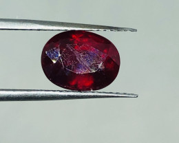 #204 3.25CTS NATURAL RUBY EARTH MINED