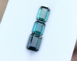 2.90 Ct Natural Blueish Transparent Tourmaline Gemstone Parcels
