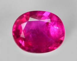 1.01 Cts IGI Certified Un Heated Pinkish Red Natural Ruby Burma Loose Gemst