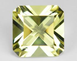 7.73 Cts Amazing Rare Fancy Yellow Color Natural Prasolite Lemon Quartz