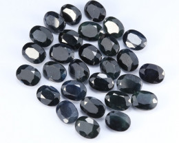 51.6tcw Natural Midnight Blue Sapphire Parcel (28pcs)