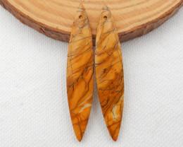 32.5cts Multi color Jasper Earrings Gemstone earrings beads, stone for earr