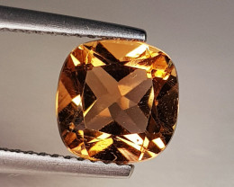 2.70 ct Top Quality Stunning Cushion Cut Natural Champion Topaz
