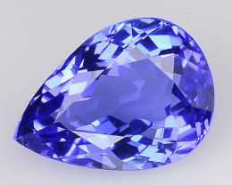 1.39 CT AA TANZANITE HIGH QUALITY GEMSTONE TZ24