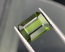 3.92 Cts Dark Green Good Quality Natural Tourmaline