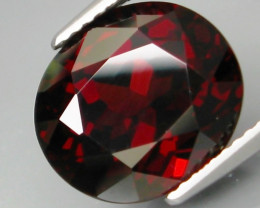8.76  Ct. Natural Top Red Rhodolite Garnet Africa – IGE Certificate