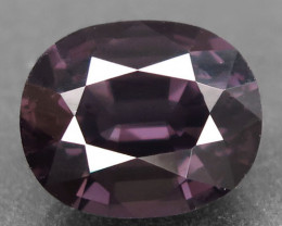 4.36 Ct. Natural Top Grayish Purple  Spinel Mogok, Burma Unheated