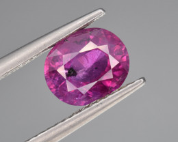 Natural Ruby 1.96 Cts Top Quality from Kashmir, Pakistan