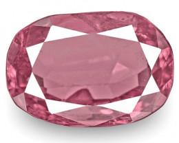IGI Certified Tanzania Spinel, 2.69 Carats, Intense Pinkish Purple Oval