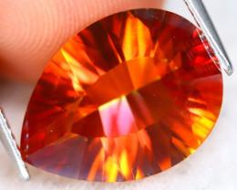 Orange Topaz 6.92Ct VVS Pear Cut Natural Orange Topaz A2020