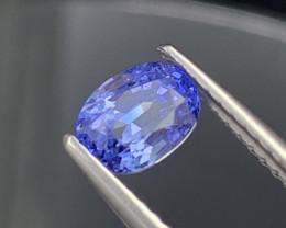 GRA Cornflower Blue Natural Sapphire Fine Luster 1.24 Carats