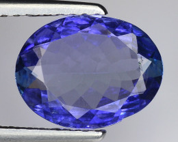 2.12 Cts Tanzanite Faceted Gemstone Gorgeous Cut ~ TN2