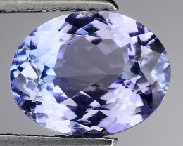 2.47 Cts Tanzanite Faceted Gemstone Gorgeous Cut ~ TN3