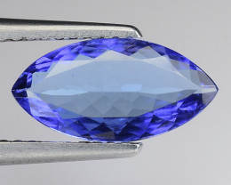 1.63 Cts Tanzanite Faceted Gemstone Gorgeous Cut ~ TN4